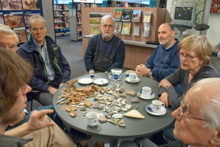 Inloopochtend Erfgoedpunt Bibliotheek Veldhoven met Johan Verspay