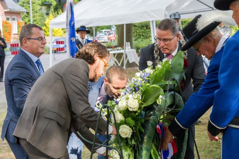 Onthulling plaquette Jan Borghouts